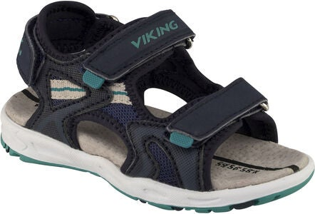 Viking Anchor Sandaler, Navy/Green